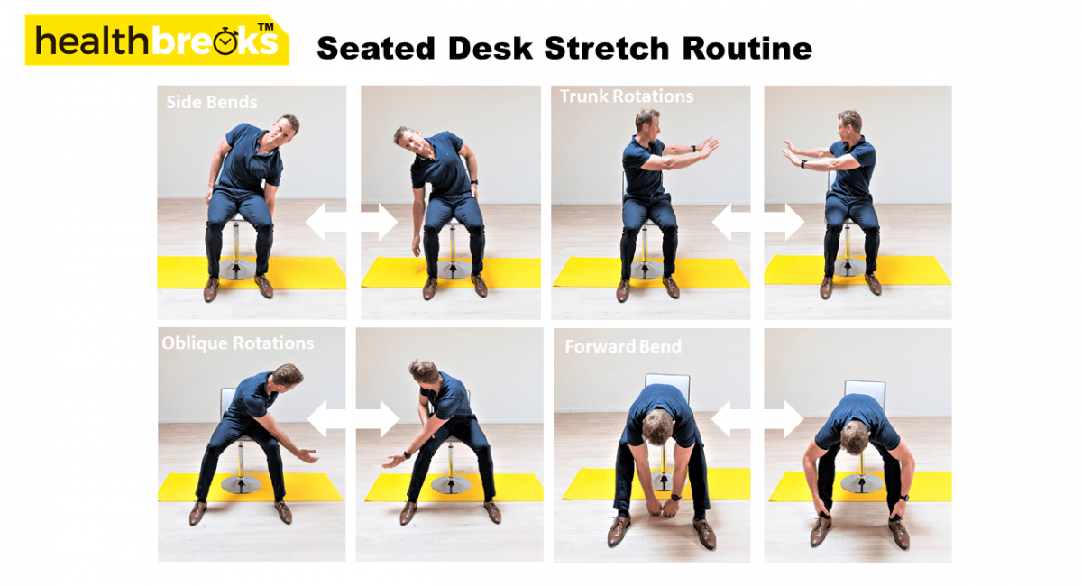 Desk Stretches Variations 2